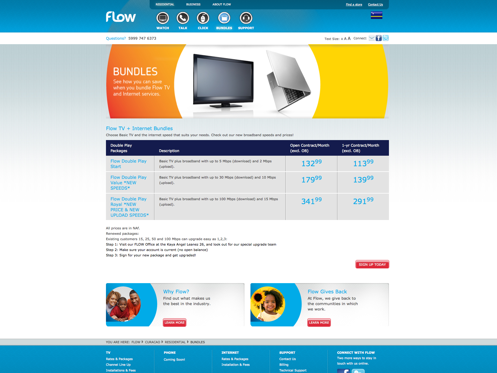 Flow Communications | Wingfield Digital